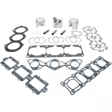 Kit de reconditionnement haut moteur WISECO pour YAMAHA GP, SV, WAVE RUNNER, XA, XL 1200cc
